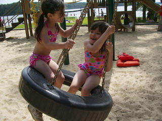 A&K playing at playground.jpg